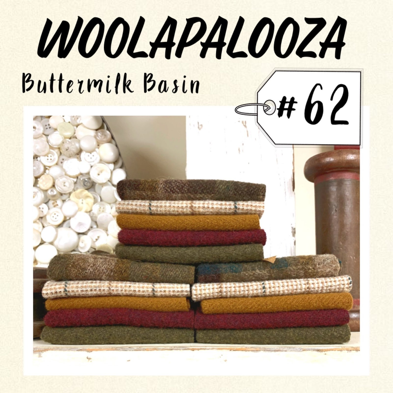 Woolapalooza #62 Wool Bundle