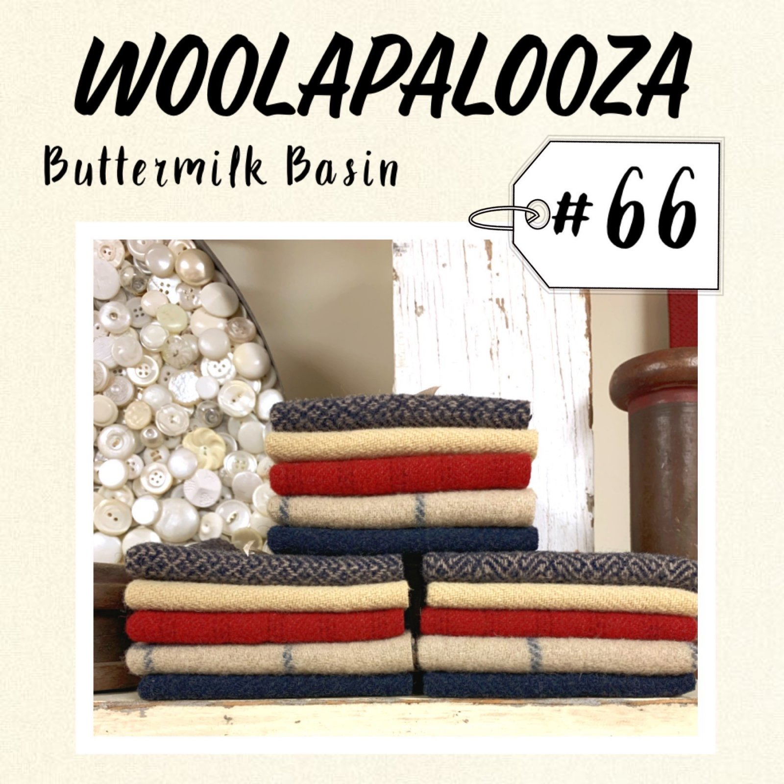 Woolapalooza #66 Wool Bundle                            -