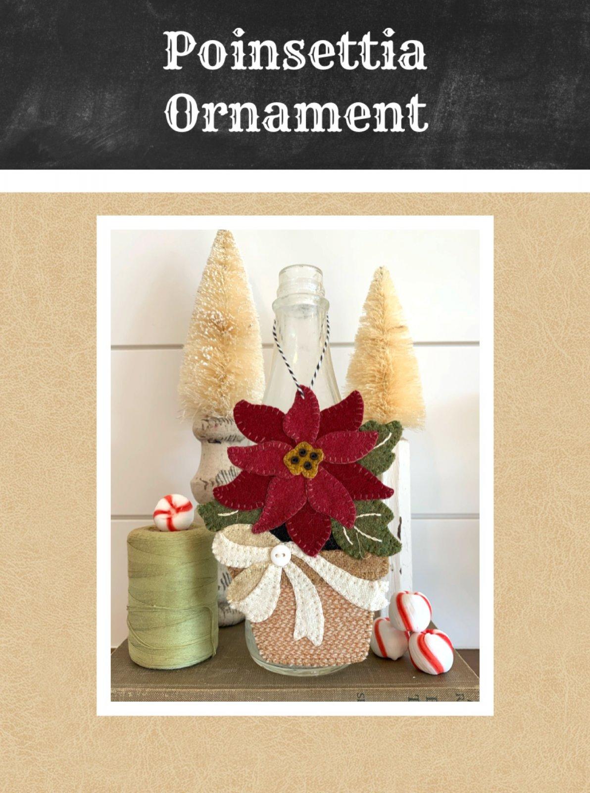 Poinsettia Ornament * KIT & Pattern