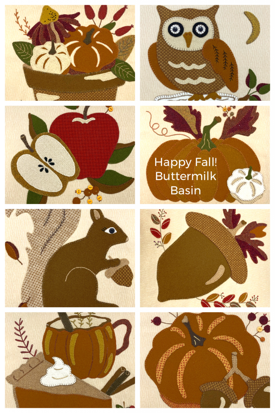Hello Fall!  Block of the Week  * Click Here for More Information!