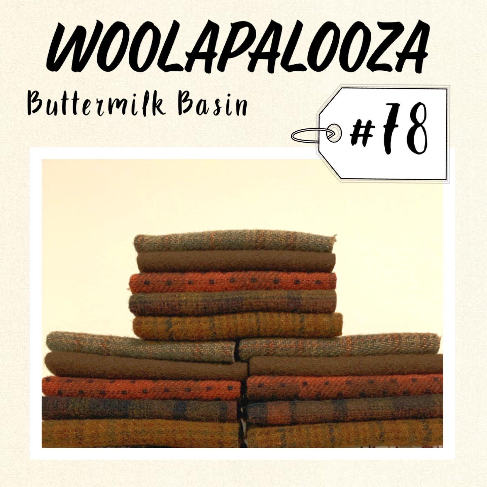 Woolapalooza #78 Wool Bundle