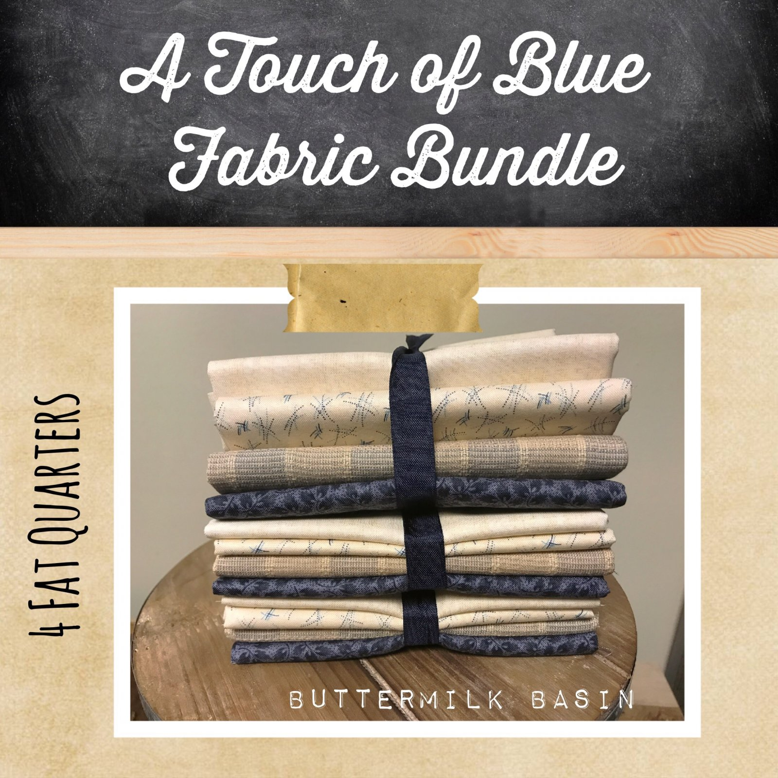 A Touch of Blue Fabric Bundle