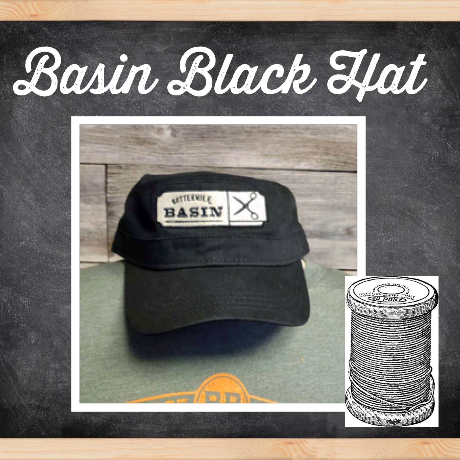 Black Basin Hat