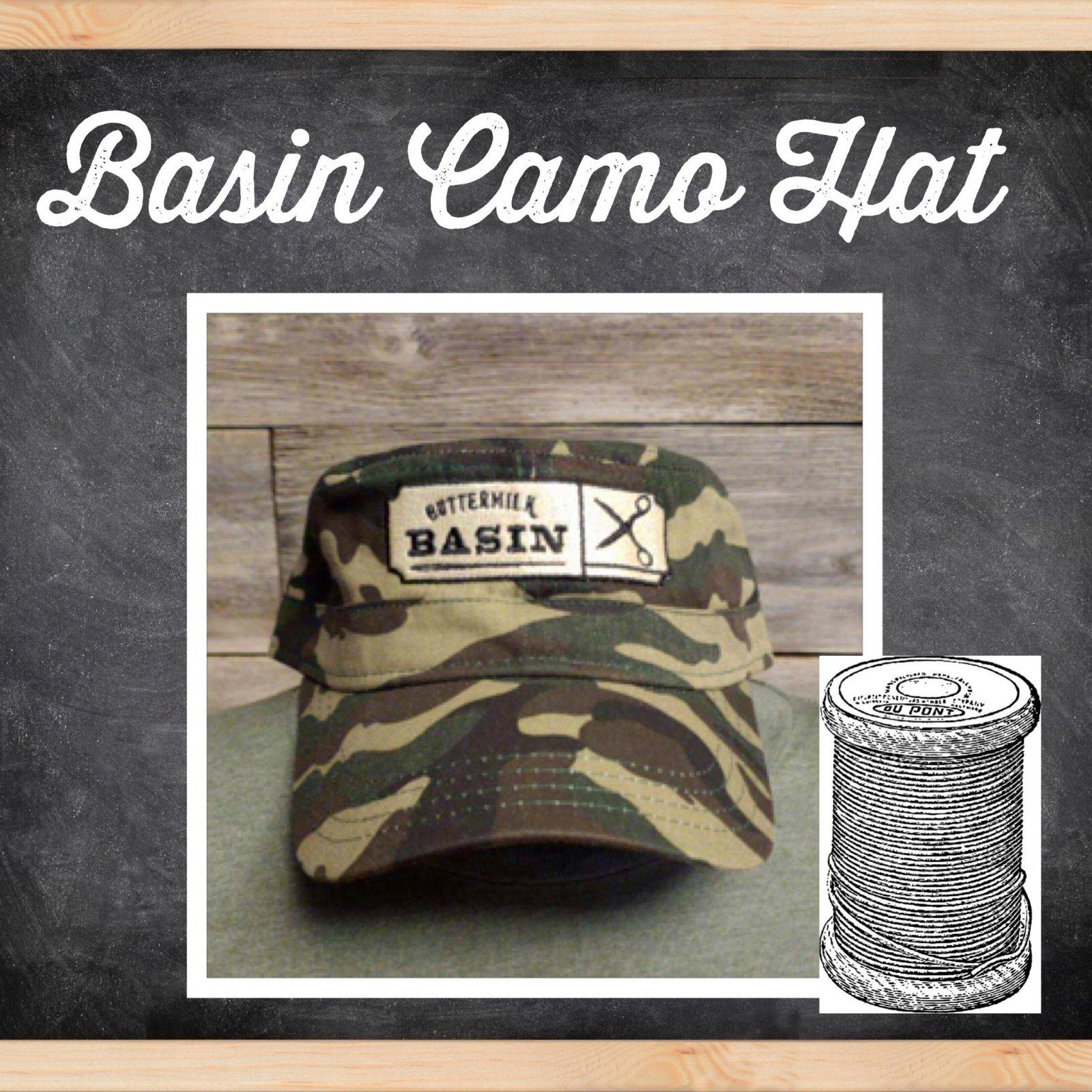 Basin Camo Hat