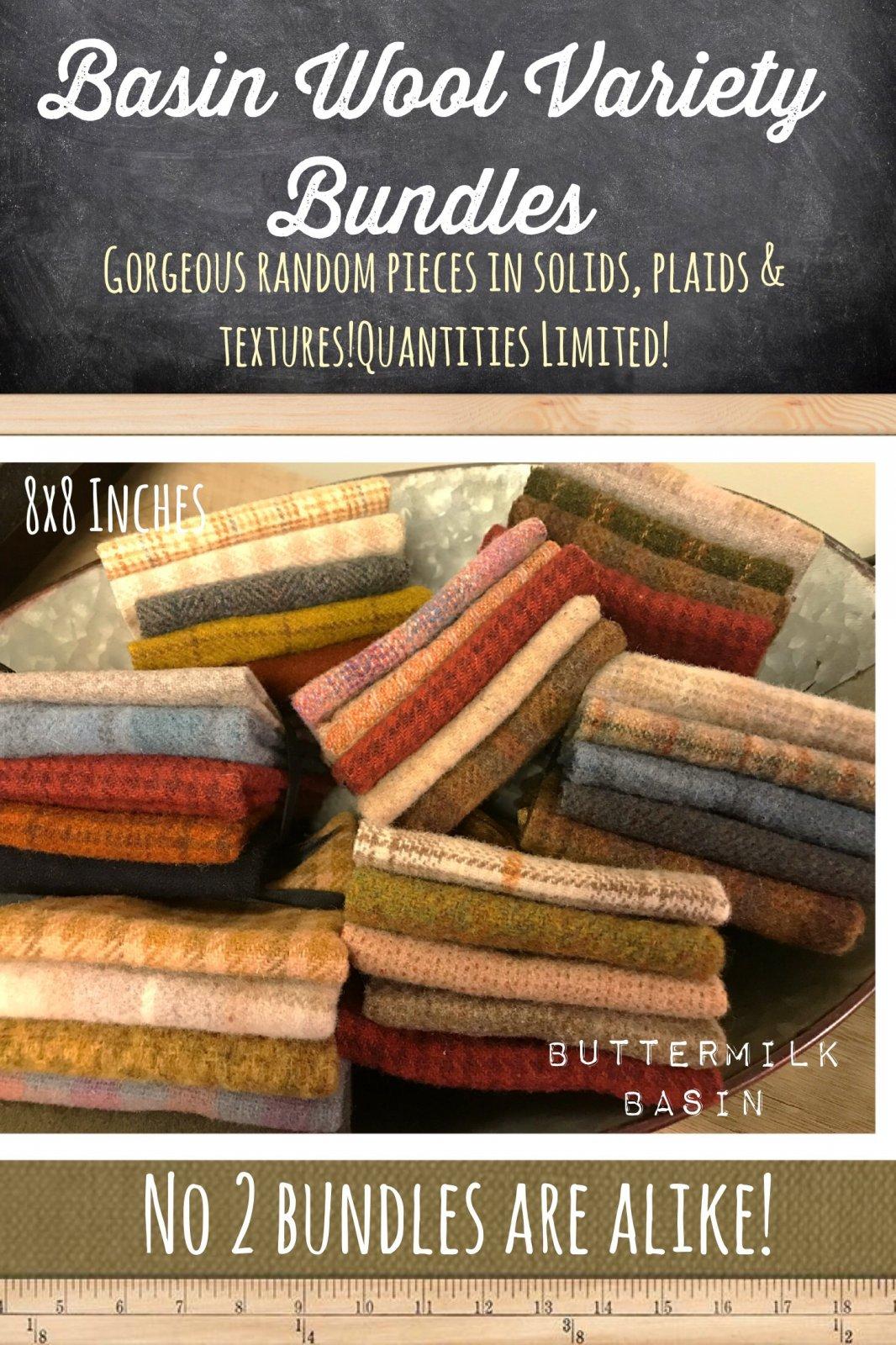 Basin Wool Variety Bundles