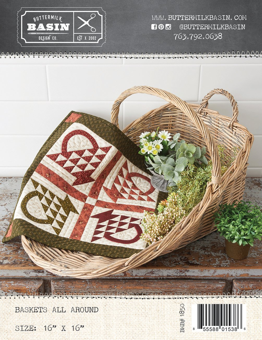 Baskets All Around *Kit & Pattern