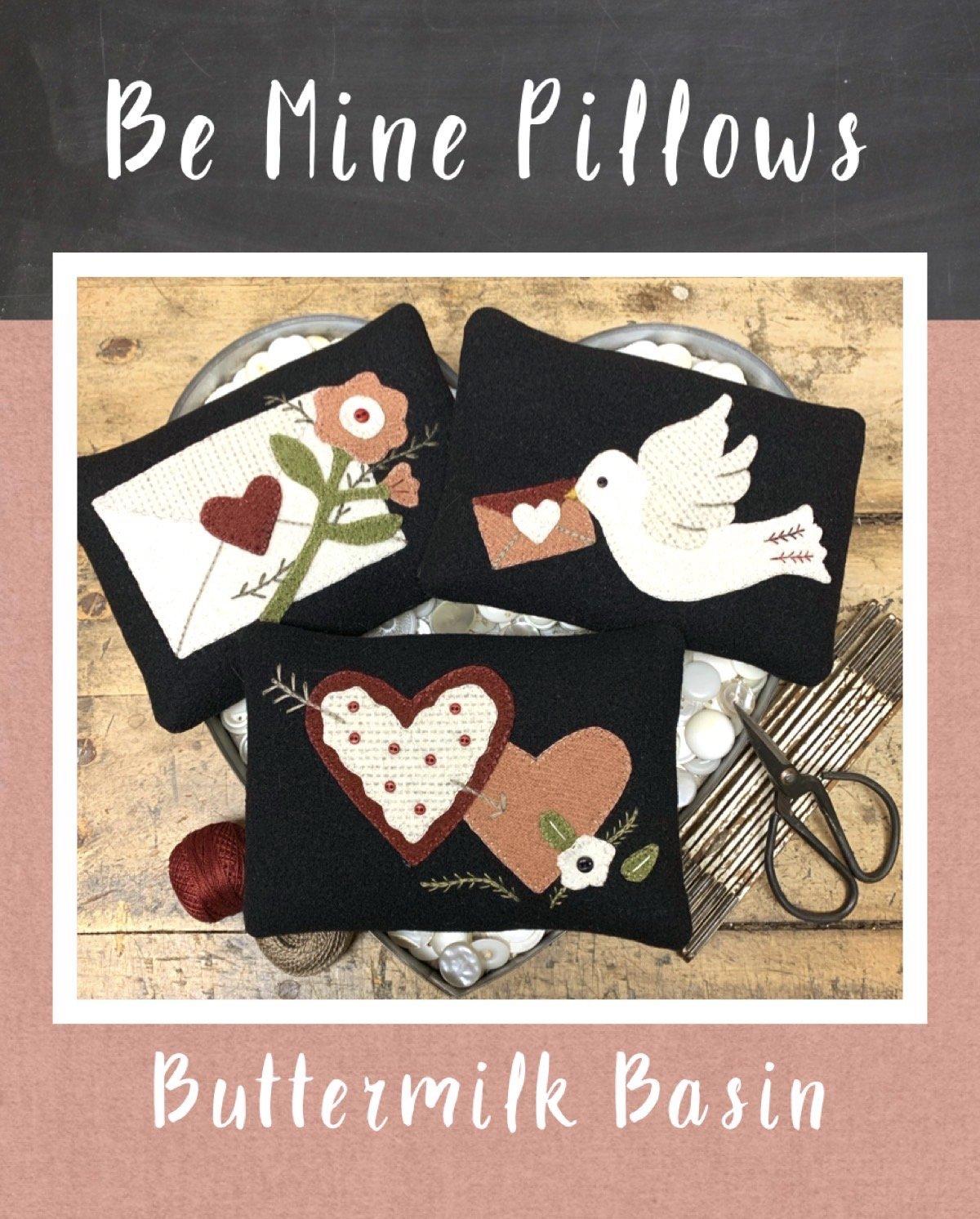 Be Mine Pillows * Kit & Pattern
