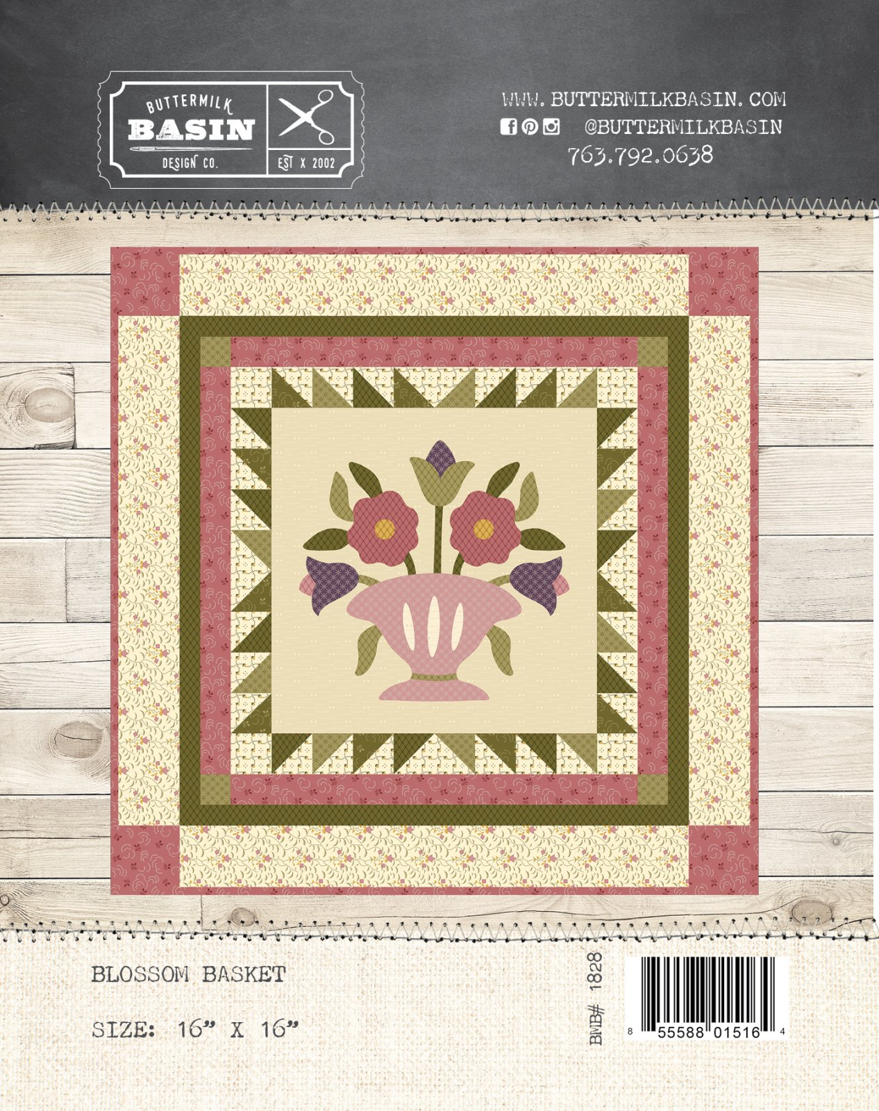 Blossom Basket Quilt * Pattern