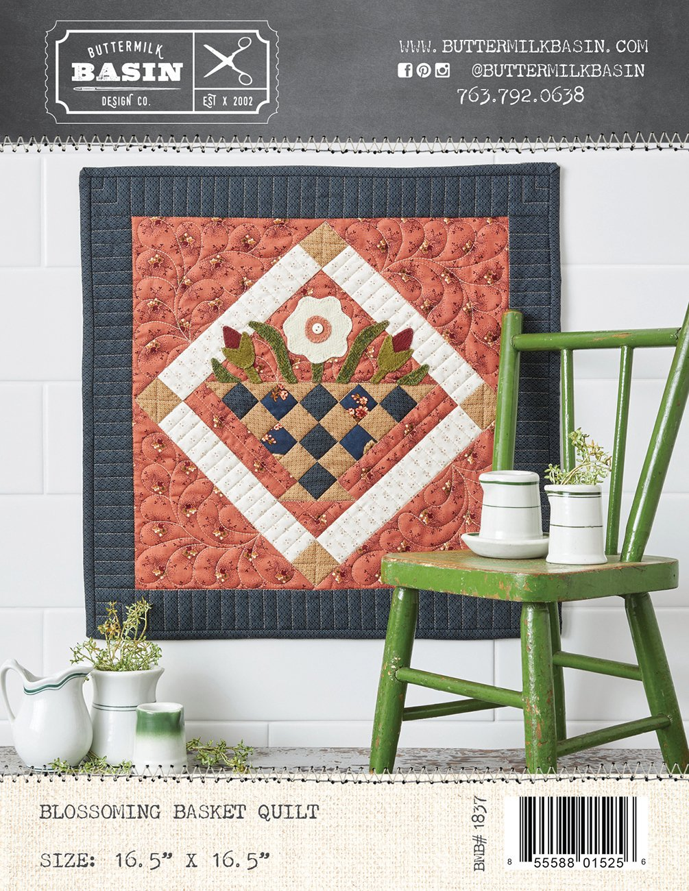 Blossoming Basket Quilt *Kit & Pattern
