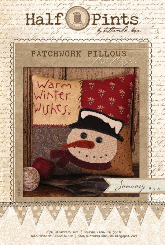 Patchwork Pillow - Jan.