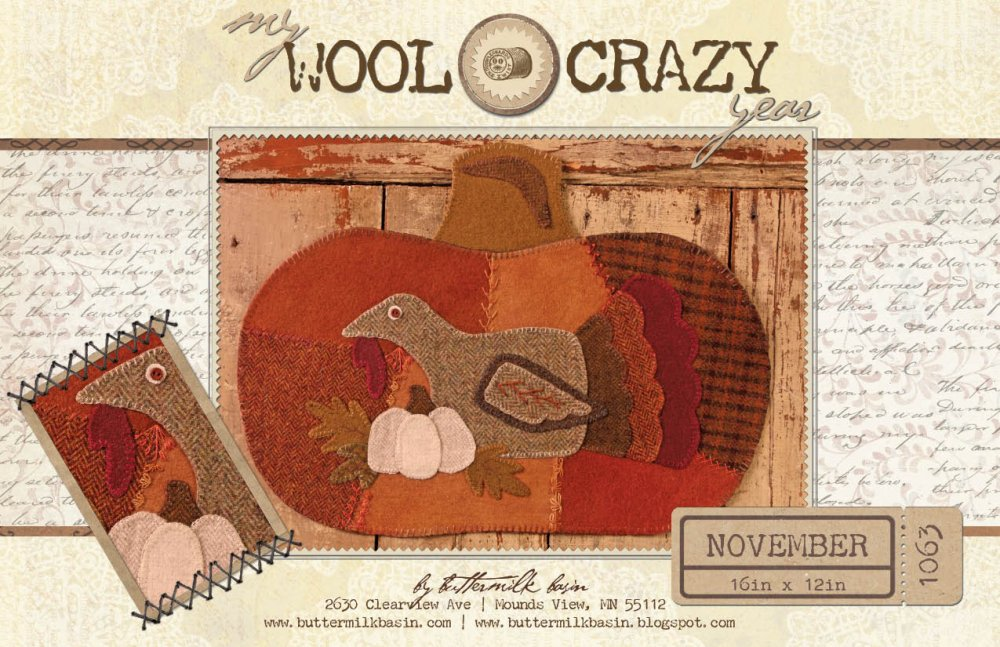 My Wool Crazy Year Nov