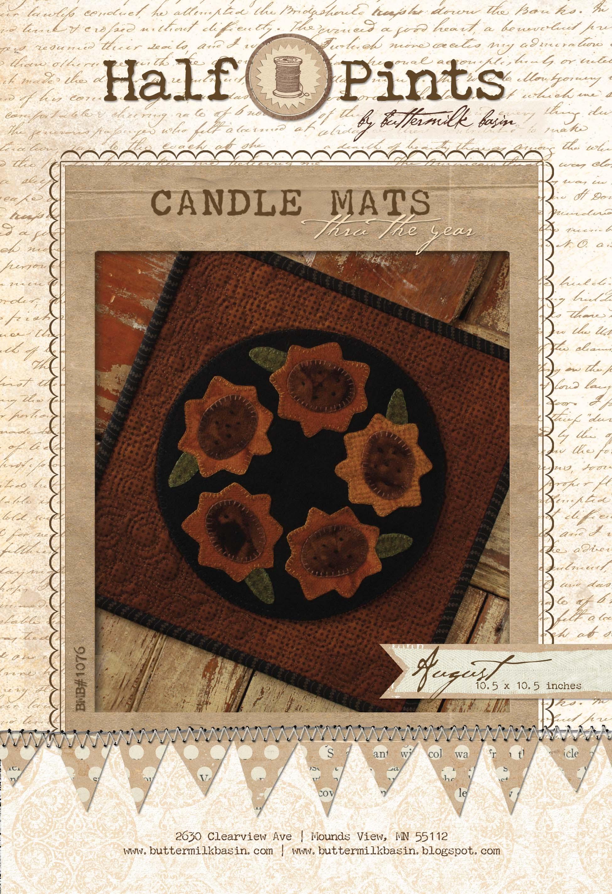 Candle Mat Aug