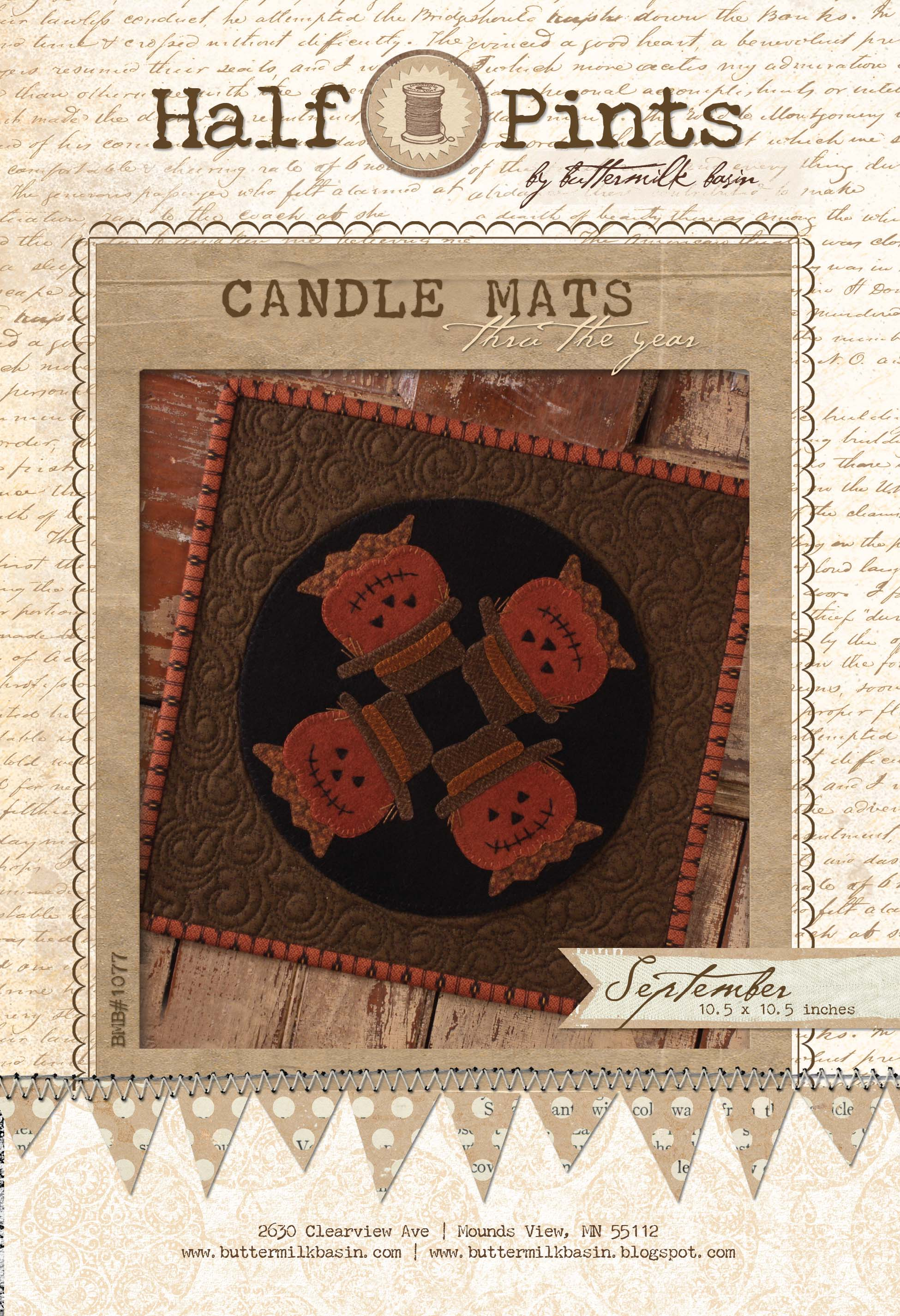 Candle Mat Sept