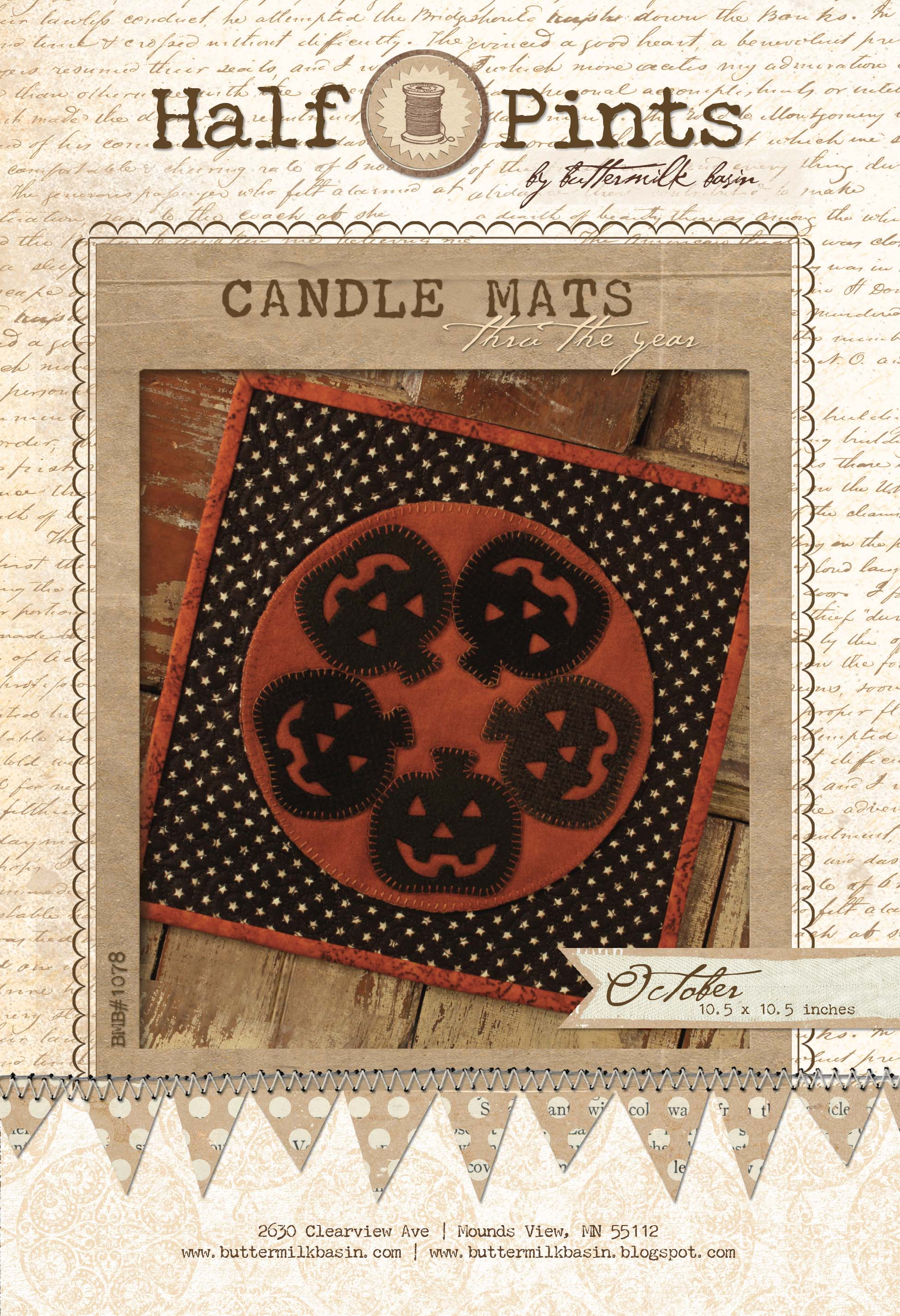 Candle Mat Oct