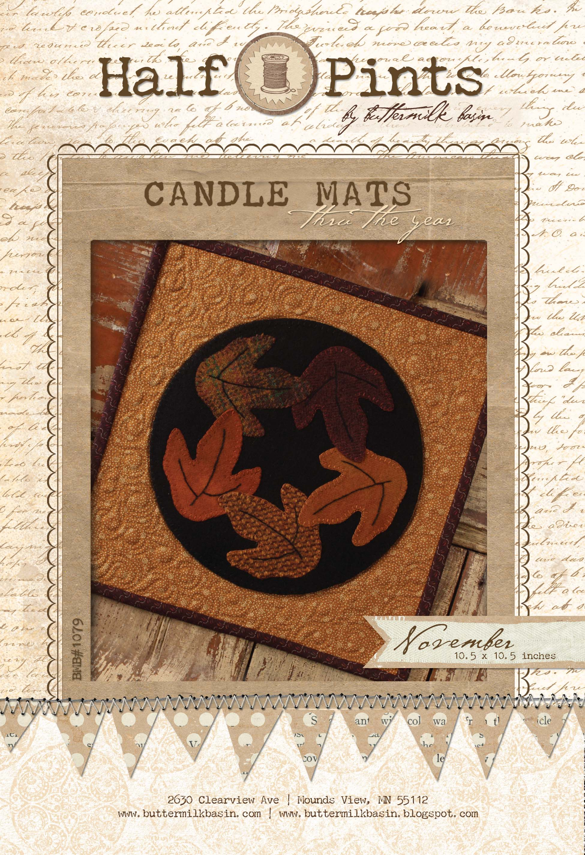 Candle Mat Nov
