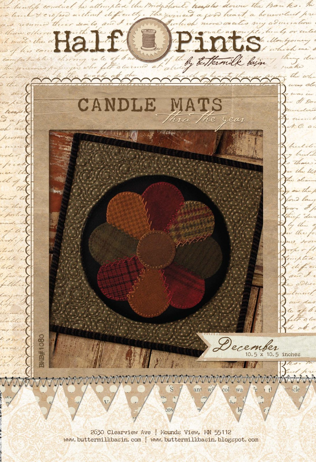 Candle Mat Dec