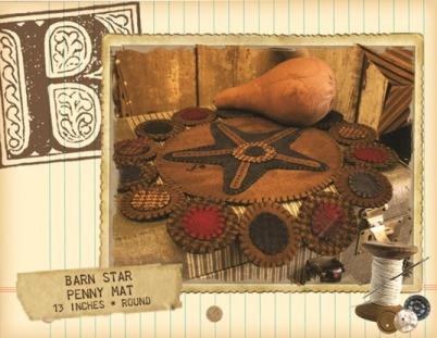 Barn Star * Pattern