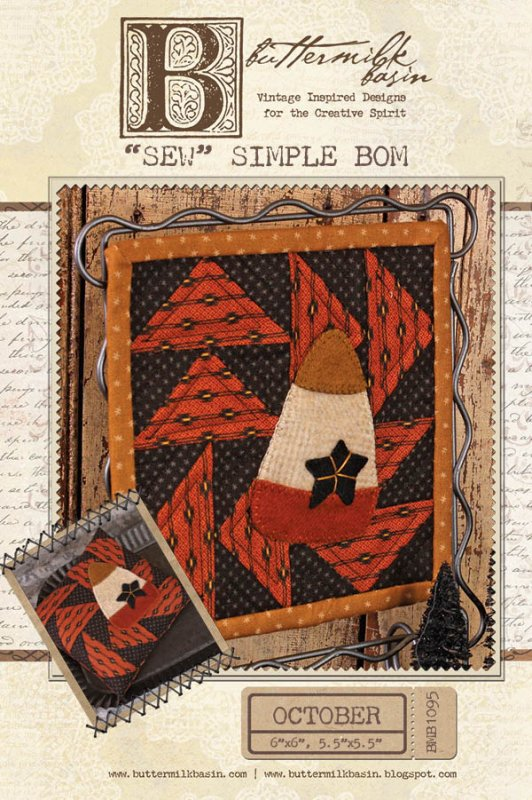 Sew Simple BOM October * KIT and Pattern