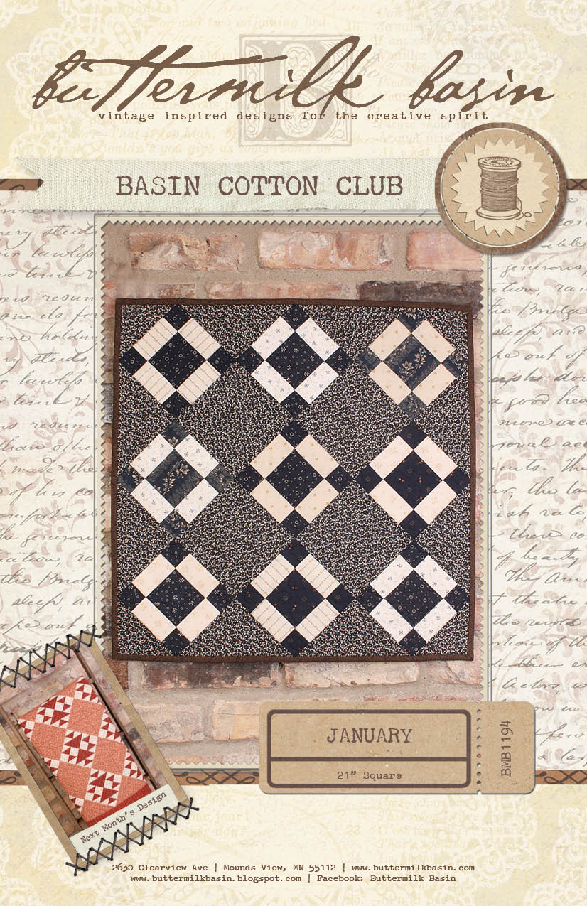 Basin Cotton Club BOM: Jan