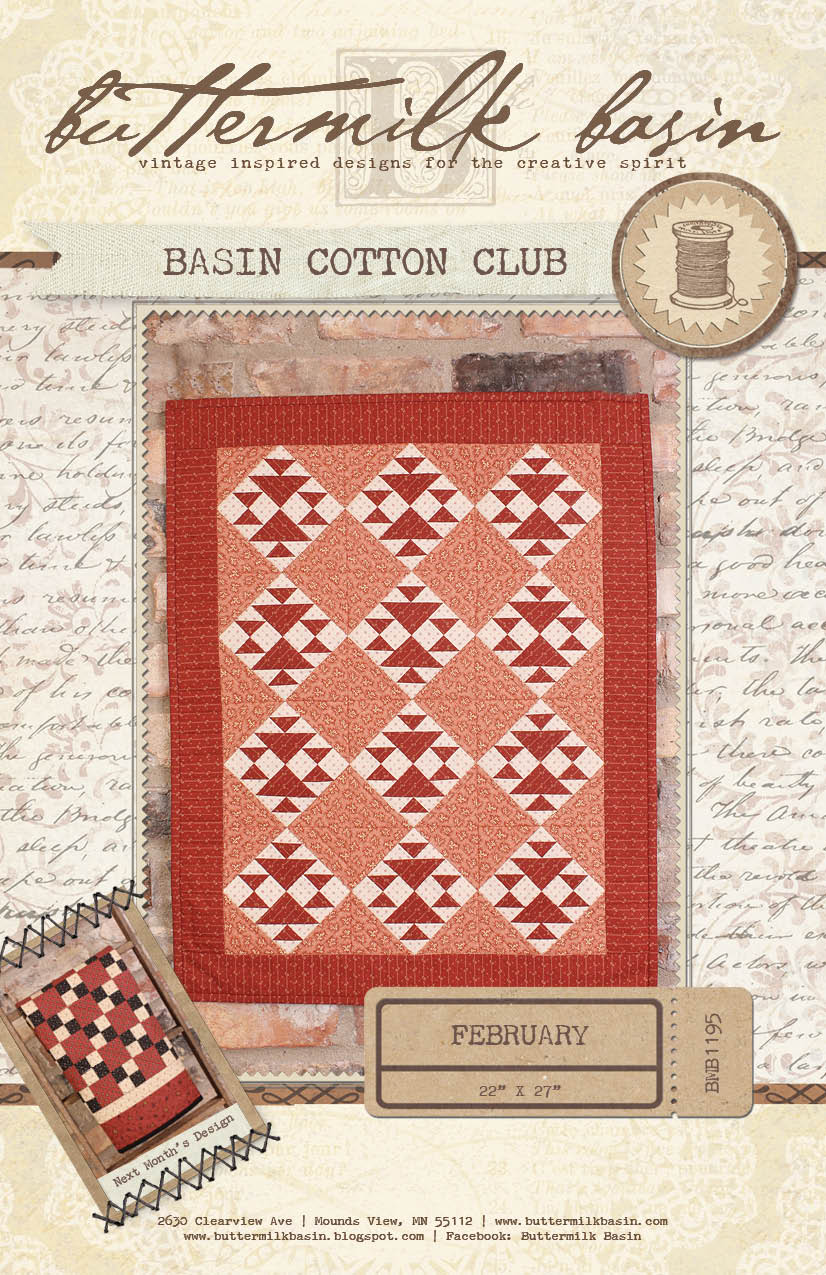 Basin Cotton Club BOM: Feb