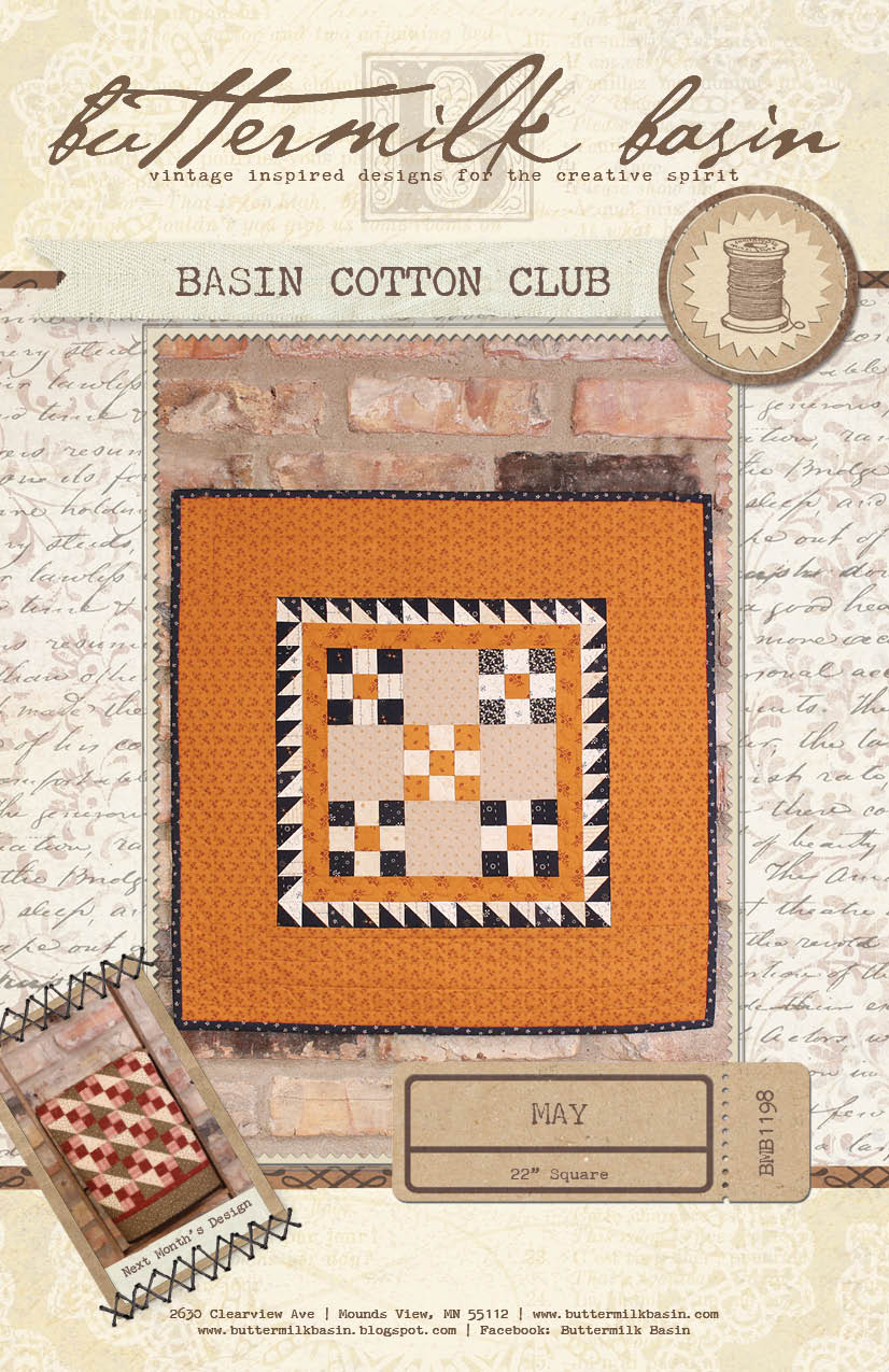 Basin Cotton Club BOM: May