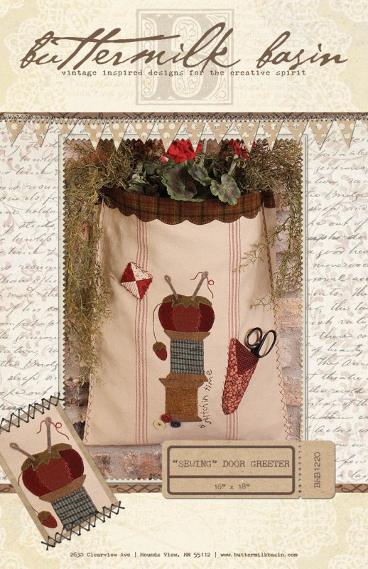 Sewing Door Greeter * Pattern