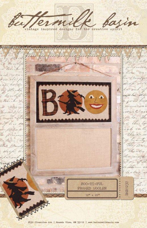BOO-ti-ful Framed Woolen * Pattern