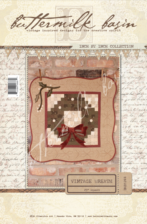 Inch by Inch Collection  Vintage Wreath
