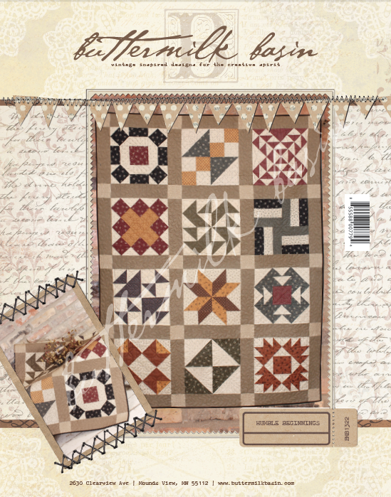 Humble Beginnings Quilt * Pattern