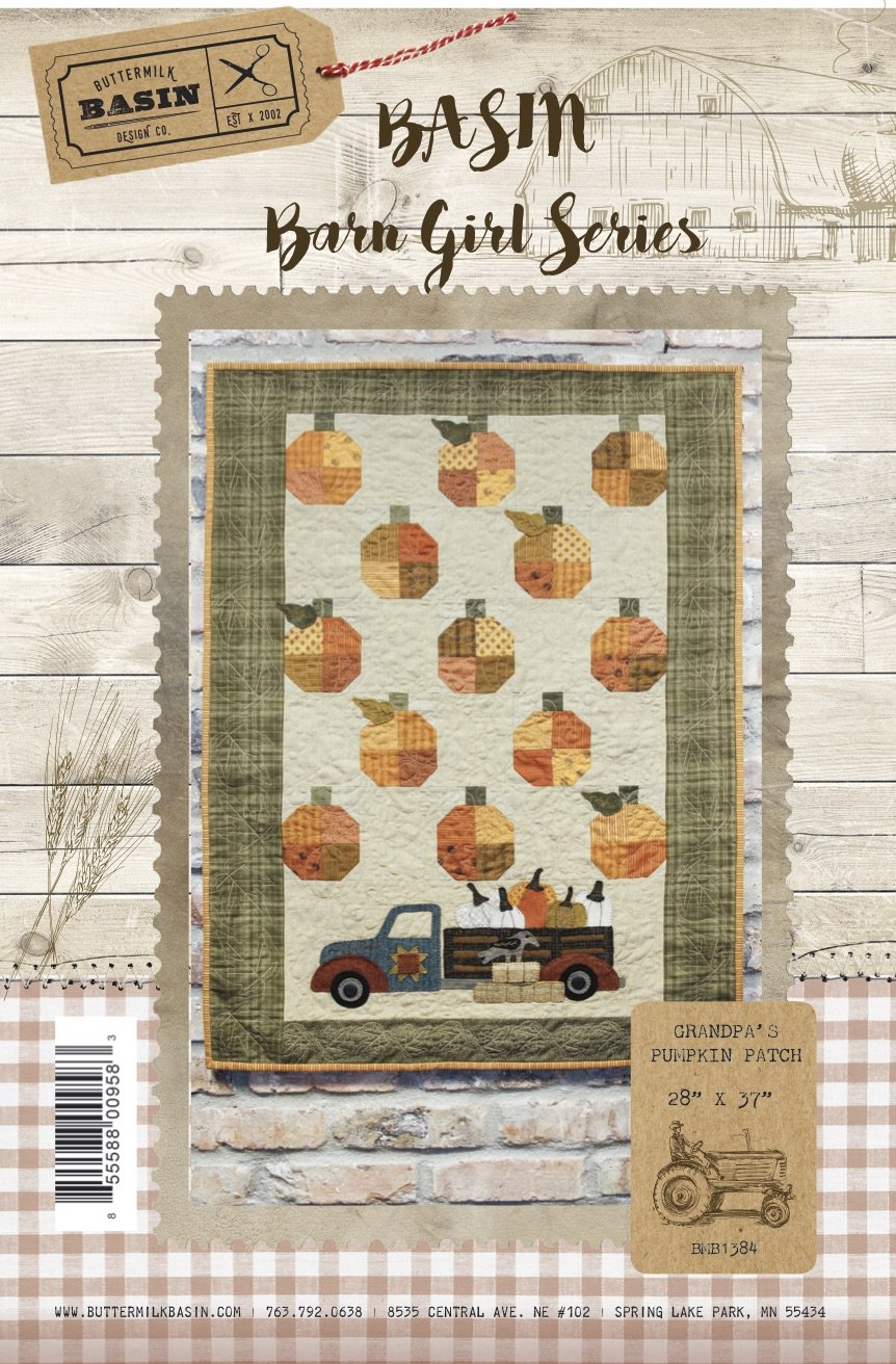 Grandpa's Pumpkin Patch * KIT and Pattern