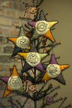 Halloween Star Ornaments * Patterns