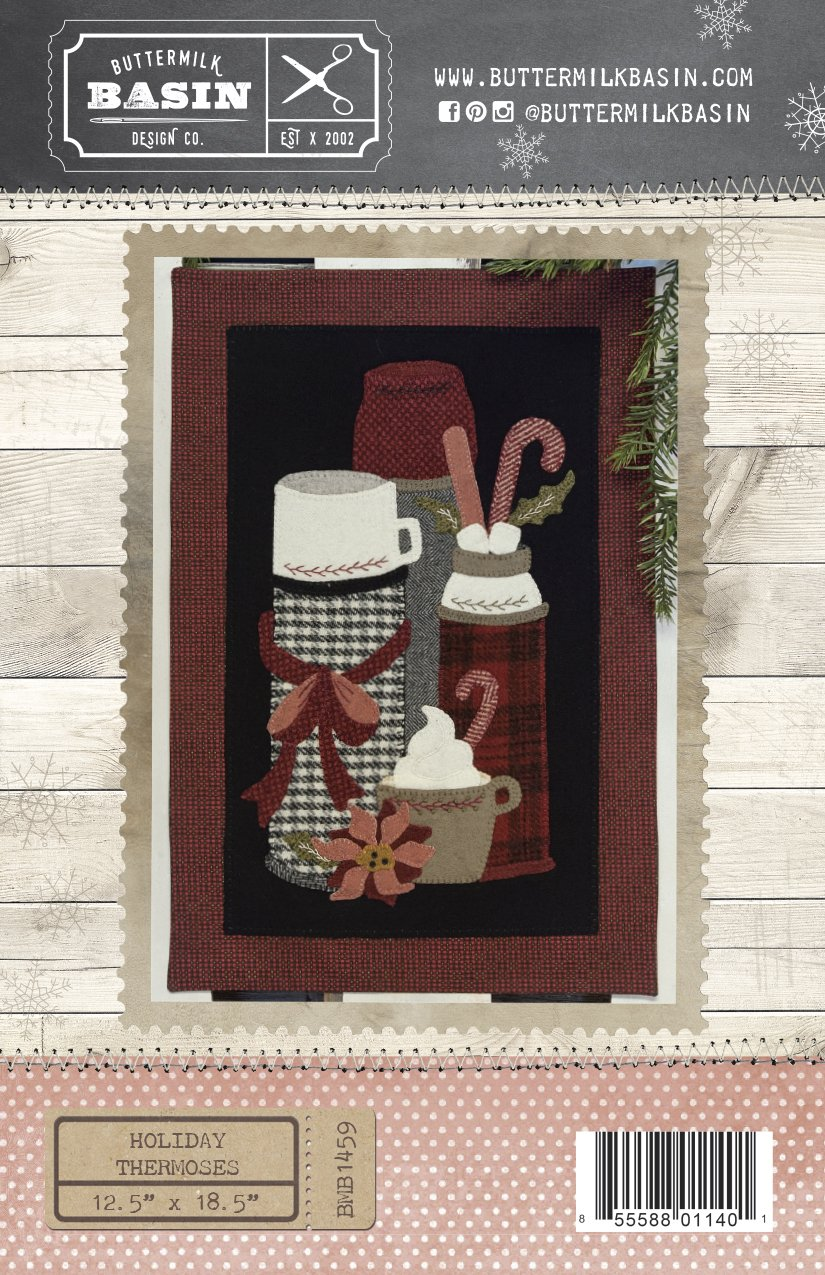 Holiday Thermos' WOOL KIT & Pattern