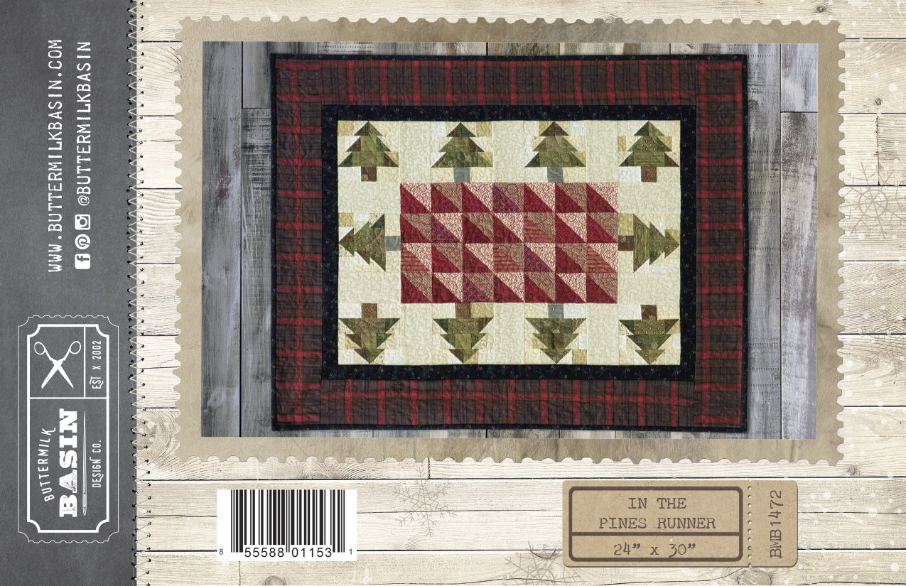 In the Pines Runner Pattern