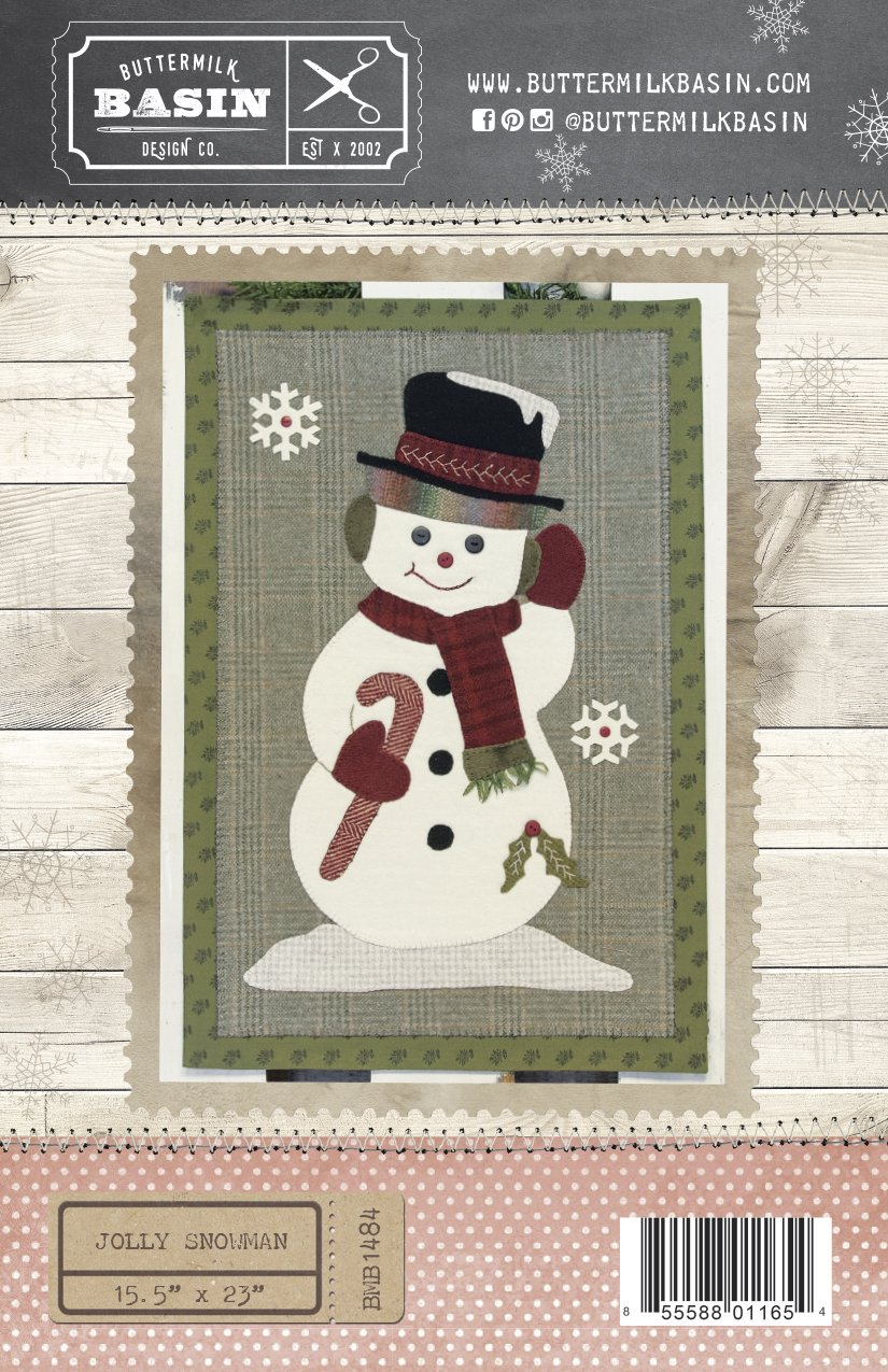 Jolly Snowman WOOL KIT & PATTERN