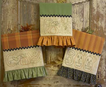 Halloween Tea Towels * Patterns