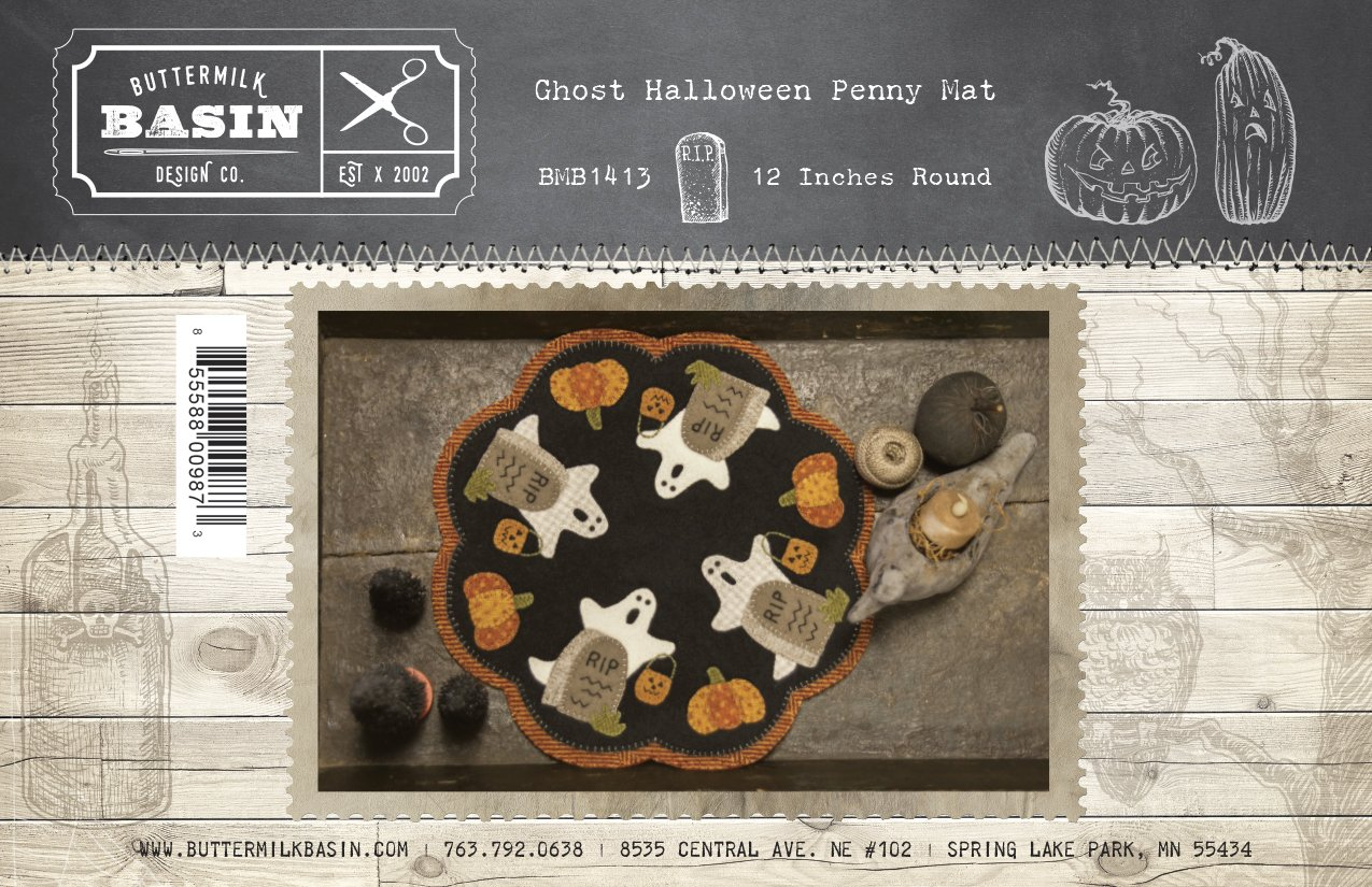 Ghost Penny Mat KIT & Pattern