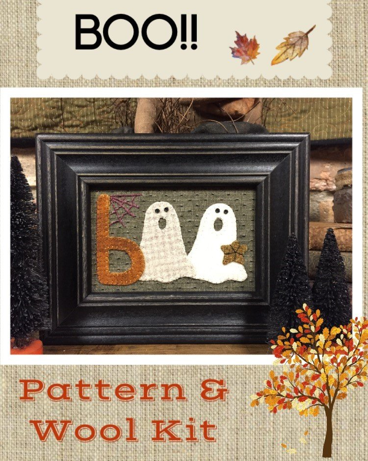 BOO!! * KIT and Pattern