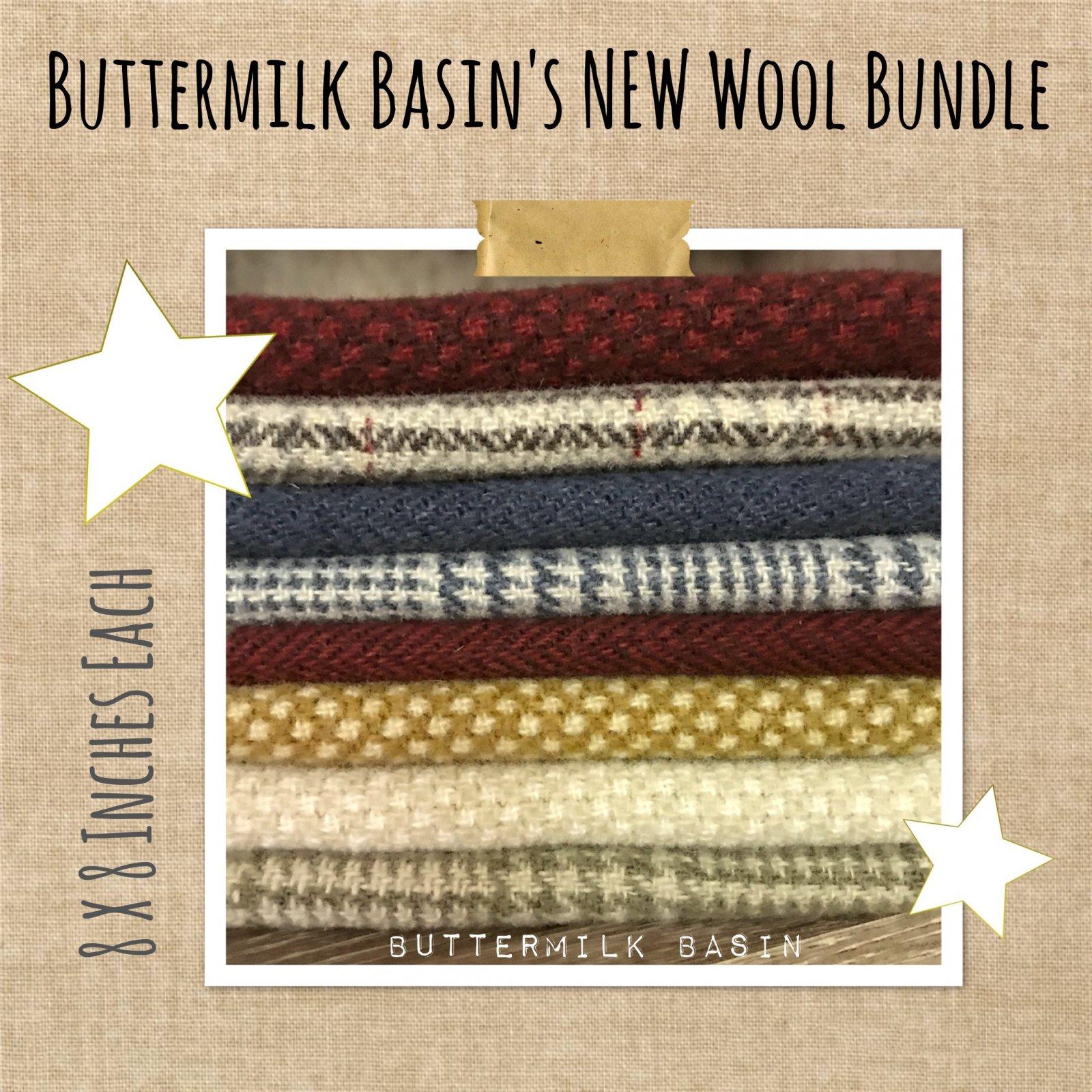 Buttermilk Basin's Spirit of America Wool Bundle