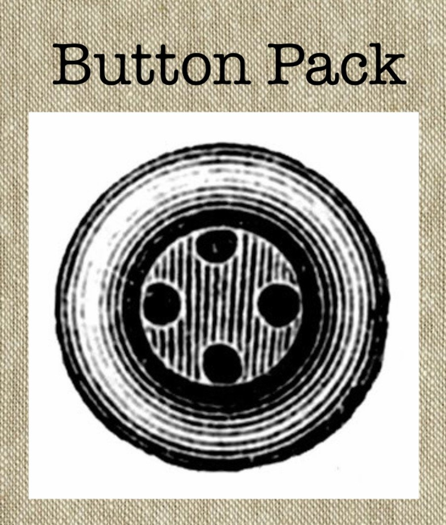 Jolly Snowman BUTTON Pack