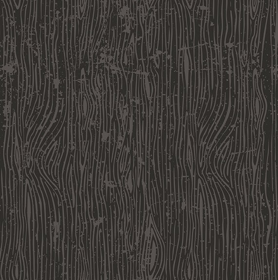 Black Lumberjack Aaron Woodgrain - C8704 * 1/2 yard