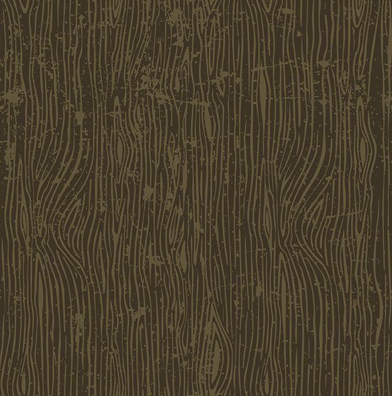 Brown Lumberjack Aaron Woodgrain - C8704 * 1/2 yard
