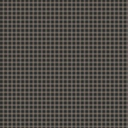 Black Lumberjack Aaron Gingham - C8705 * 1/2 yard