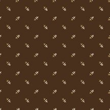Brown Lumberjack Aaron Arrows - C8708 * 1/2 yard