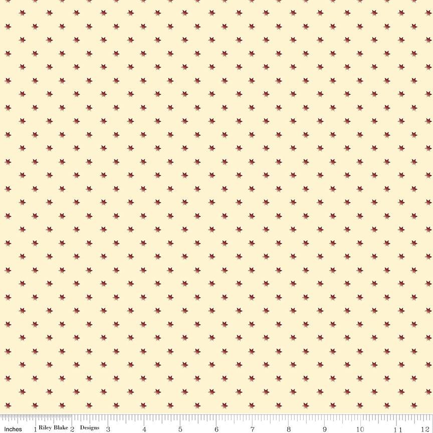 Buttermilk Basics * C9180 Red - 1/2 yard