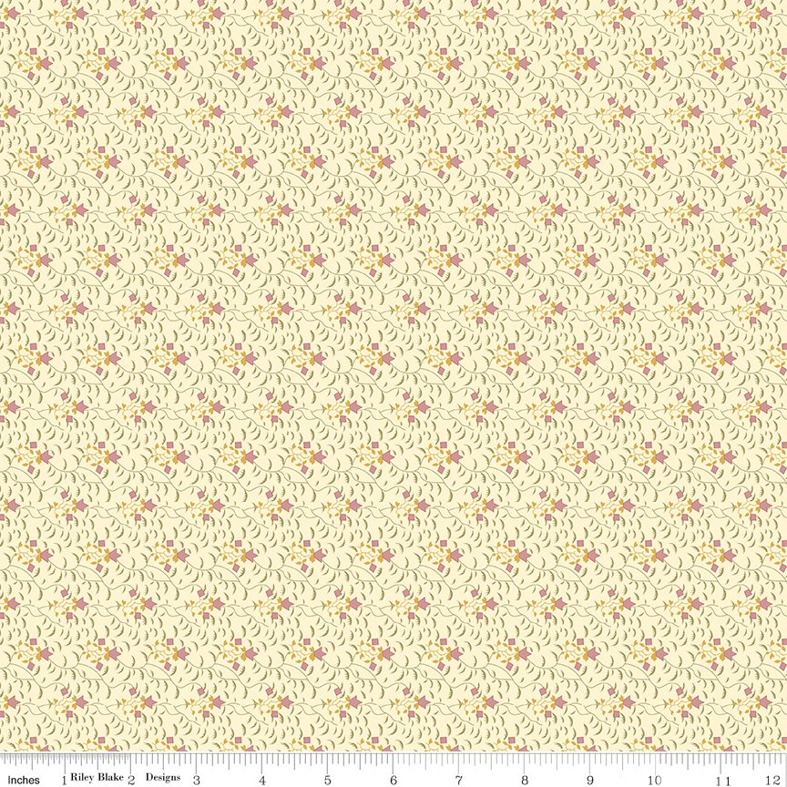 Buttermilk Basics * C9181 Pink - 1/2 yard