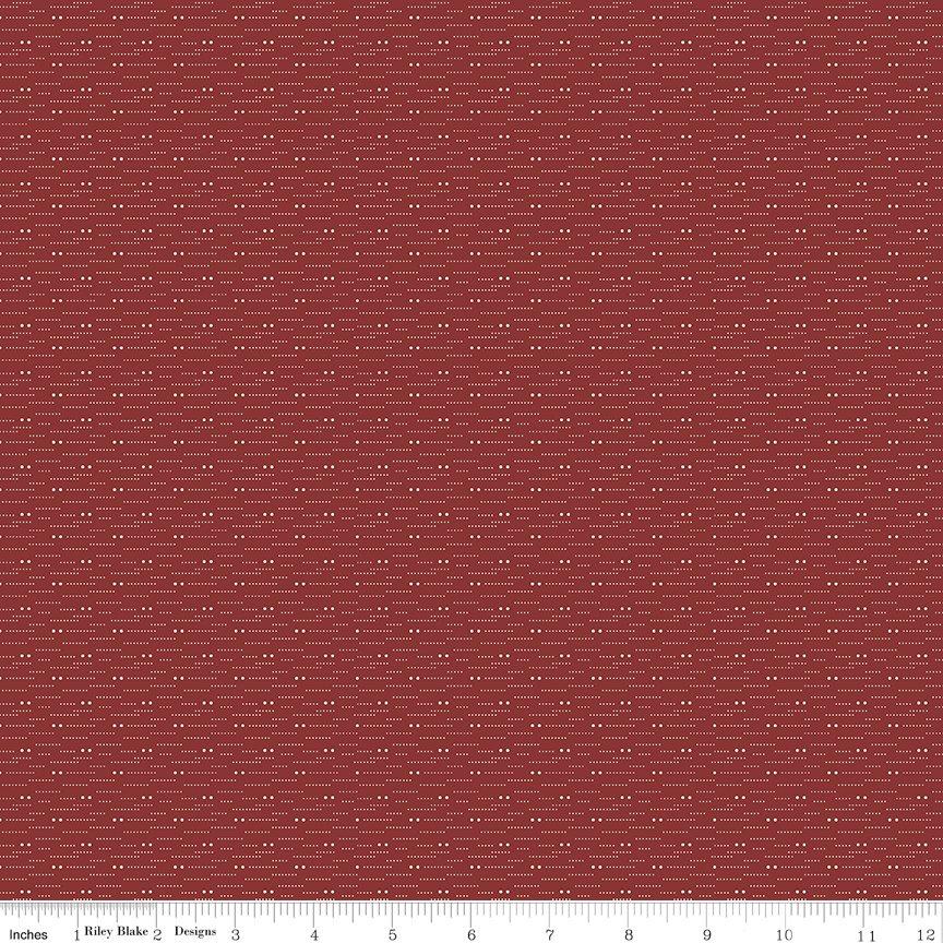 Buttermilk Basics * C9182 Red - 1/2 yard