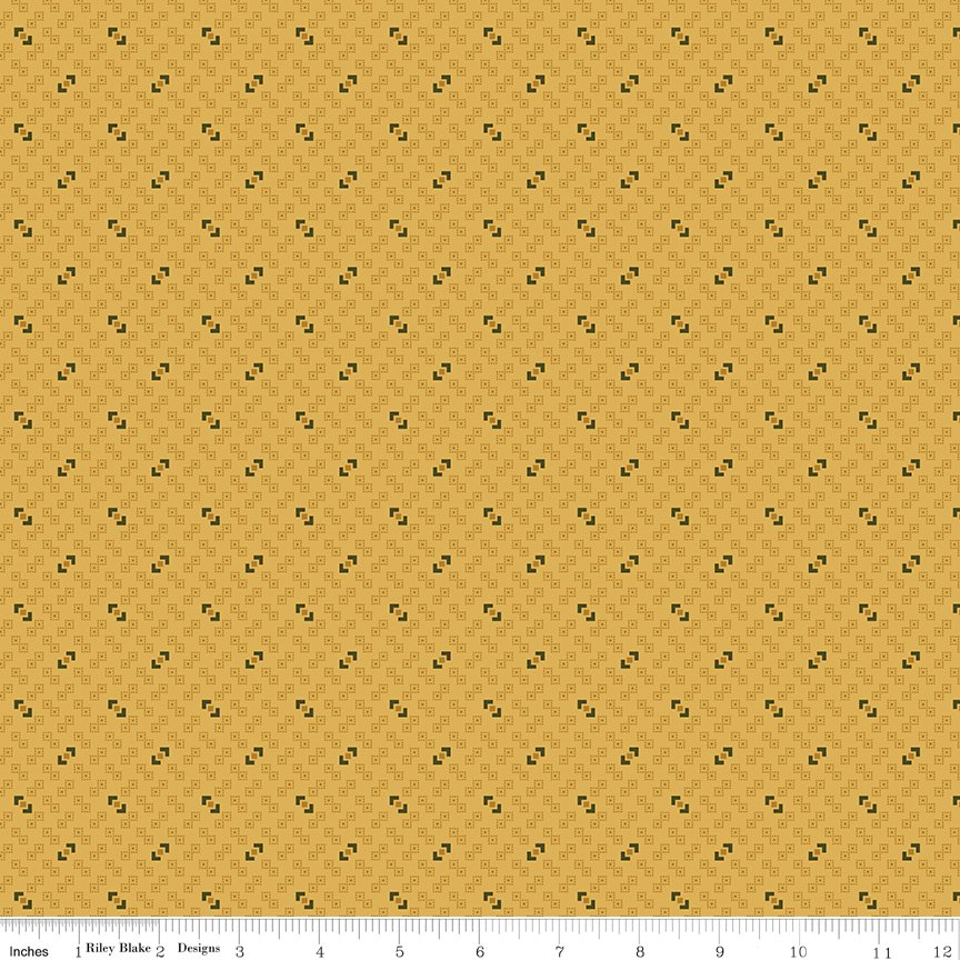 Buttermilk Basics * C9183 Yellow - 1/2 yard