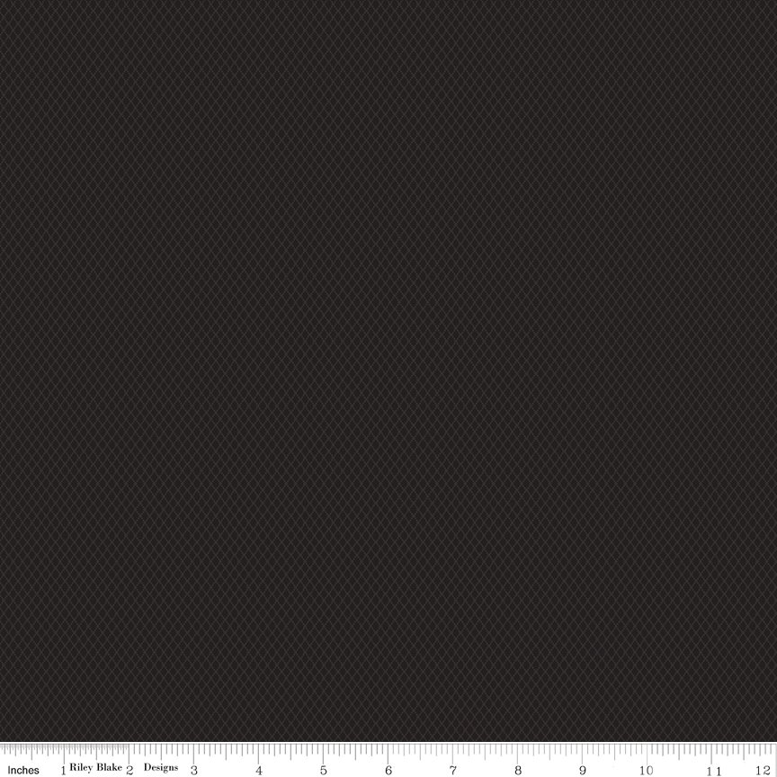 Buttermilk Basics * C9184 Black - 1/2 yard