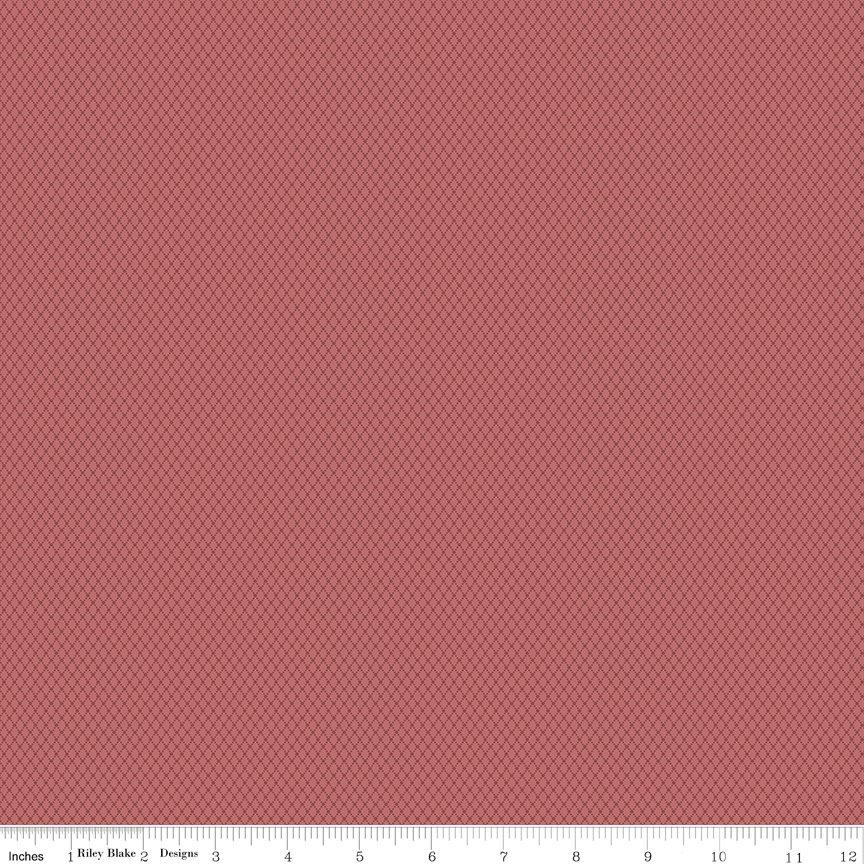 Buttermilk Basics * C9184 Dark Pink - 1/2 yard
