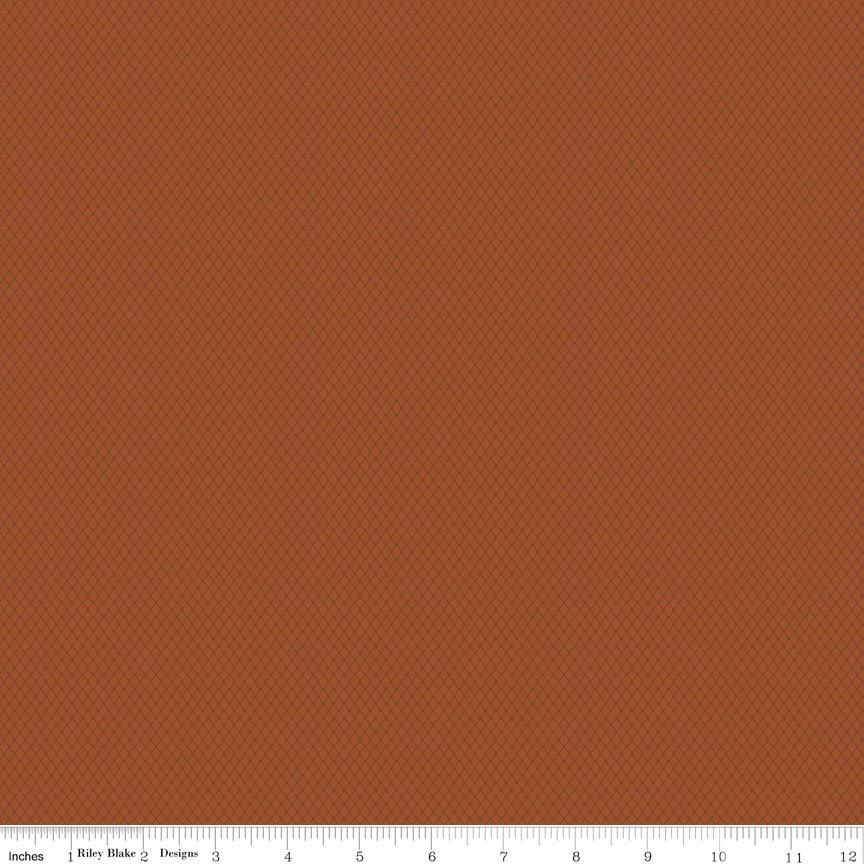 Buttermilk Basics * C9184 Orange - 1/2 yard